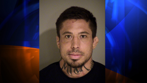 """The booking photo for MMA fighter Jonathan """"War Machine"""" Koppenhaver, who allegedly beat his girlfriend in Simi Valley, California. Koppenhaver was arrested at a hotel in Simi Valley on August 15, 2014. (Credit: Ventura County Sheriff's Office)"""
