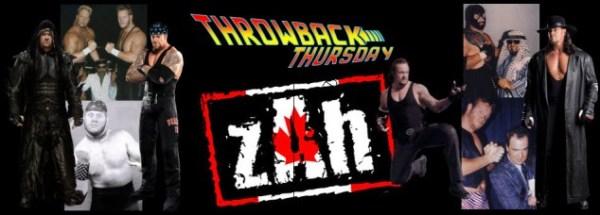Throwback Thursday - Undertaker