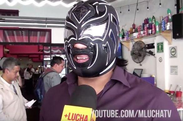 La Sombra luchador CMLL NJPW WWE